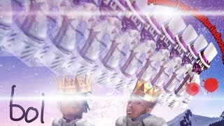 OWWIE THAT HURTS OWWW!!! (Roblox Pushing simulator)
