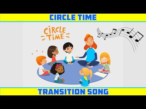 CIRCLE TIME TRANSITION SONG For Preschool, Kindergarten