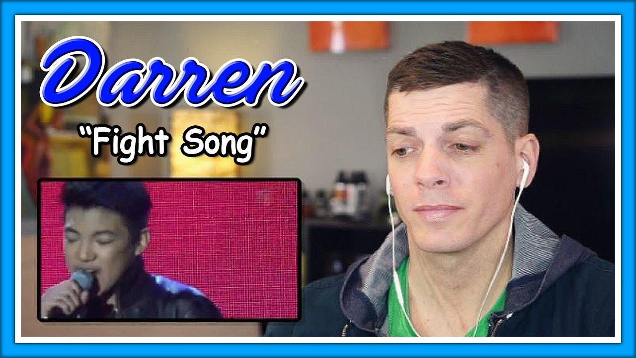 "Darren Espanto Reaction | ""Fight Song"" Push Awards Oct 19 ..."
