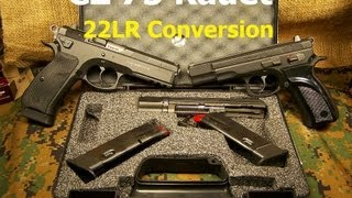 CZ 75 Kadet 22lr Pistol Conversion