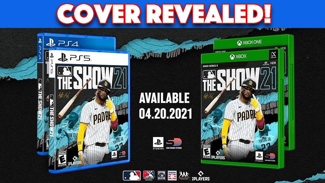 The MLB The Show 21 Cover has OFFICIALLY Been Revealed!