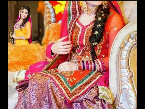 6df450ae8b Latest Mehndi Dresses | 2017 | Indian & Pakistani Bridal Dress Designs