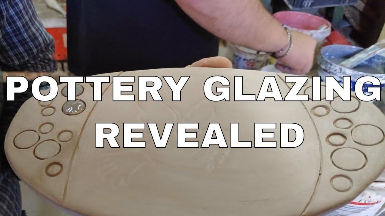 Pottery Glazing REVEALED - How we glaze Raku Ceramics - Glazing Ceramics in depth.