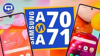 Samsung Galaxy A71 и Galaxy A70. Сравнение. / QUKE.RU /