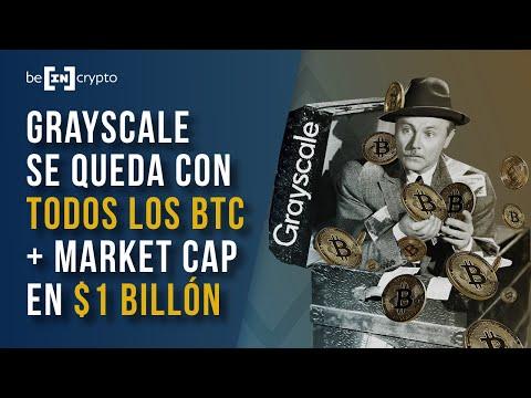 GRAYSCALE tiene 3% de todos los BTC, MARKET CAP alcanza $1 billón y más... | Repaso de Noticias