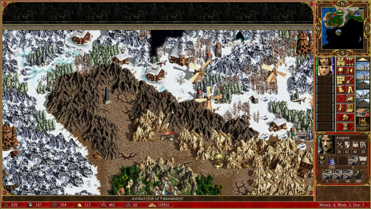 Heroes Of Might Magic Iii Lord Of The Rings 200 Part 3