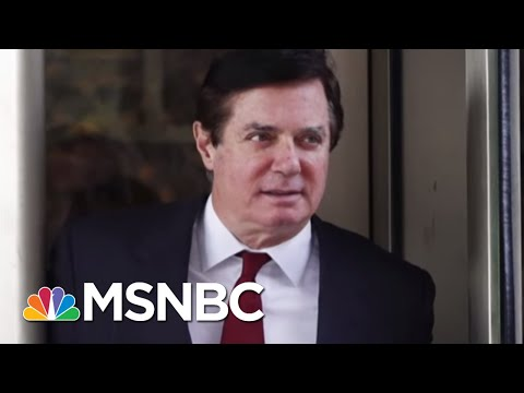 Paul Manafort Expected To Plead Guilty In Robert Mueller Probe   Velshi & Ruhle   MSNBC