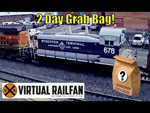 Virtual Railfan Grab Bag 2/20-21/2020, Great To Have You!