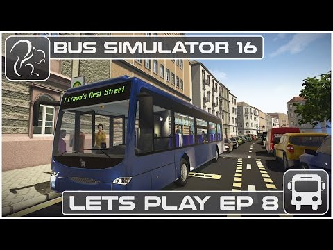Bus Simulator 16 - Lets Play - Episode #8