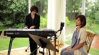 "Japanese singer songwriter Ayaka performs""Tegami ~haikei 15 no kimi..."