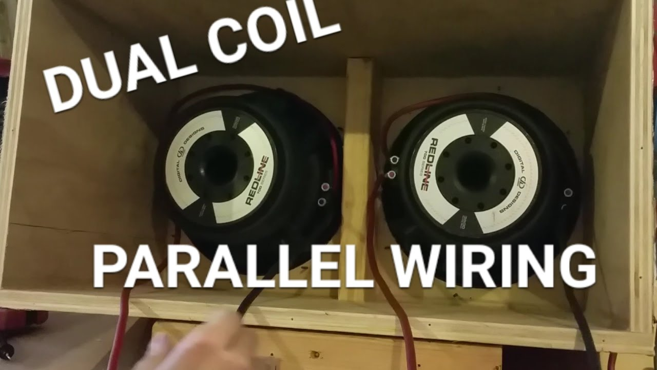 How To Wire Subs Dual Coil Woofers Parallel Wiring Youtube And Series For