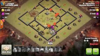 Clash of Clans TH8 GoVaLo 3 STAR ATTACK