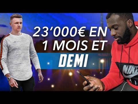23'000€ EN 45 JOURS EN DROPSHIPPING À 28 ANS - INTERVIEW DADAWI