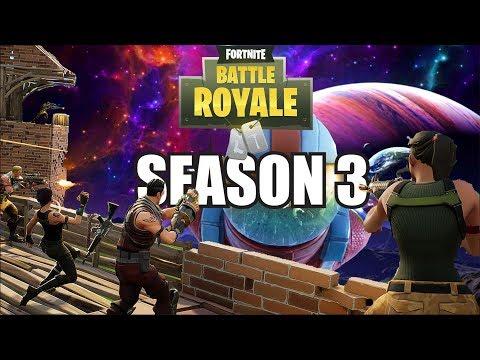 Fortnite Battle Royale Live - Lets Start Season 3 With A Bang