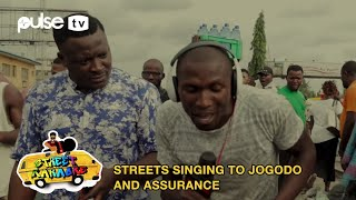 Nigerians Sing to Jogodo By Tekno and Assurance By Davido | Street Karaoke | Pulse TV