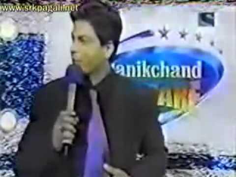 Rare Video of Shahrukh khan with Malini sharma in Filmfare Award