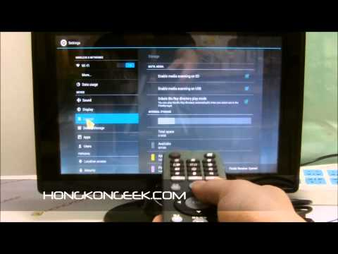 - UNBOXING AND TEST - ANDROID TV BOX MELE A100/M3 WITH ANDROID 4.0