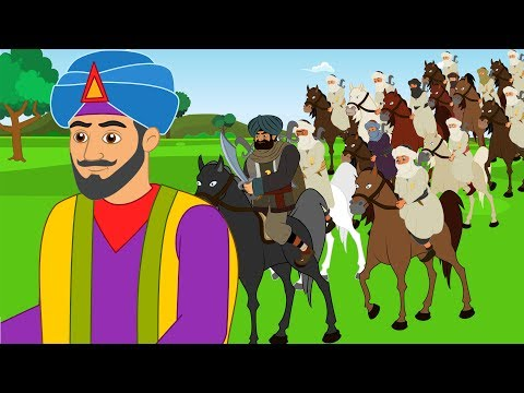 Ali Baba et les 40 voleurs  - dessin animé en français - Conte pour enfants