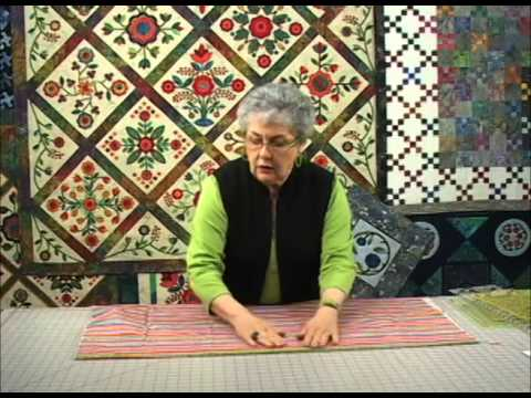 The Quilt Show Tutorial: Sharon Pederson - Lesson 1