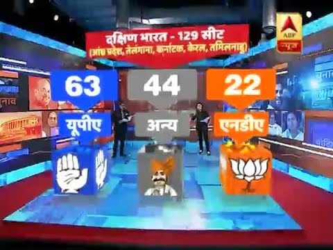 ABP News-CVoter Survey of all 129 seats of South India