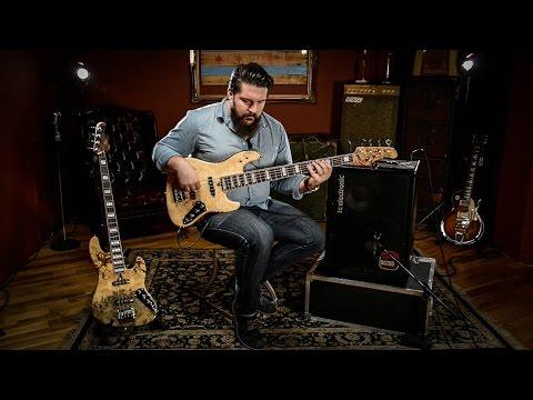 Mayones Jabba Bass Guitar Demo