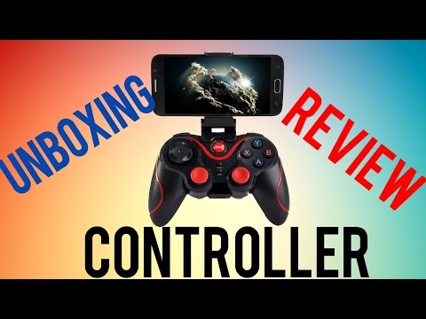 UNBOXING AND REVIEWING THE T3/S3 BLUETOOTH PHONE CONTROLLER!