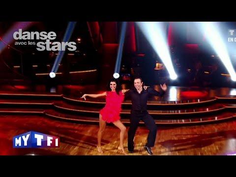 DALS S02 - Un tango avec Veronique Jannot et Philippe Candeloro sur Happy Days