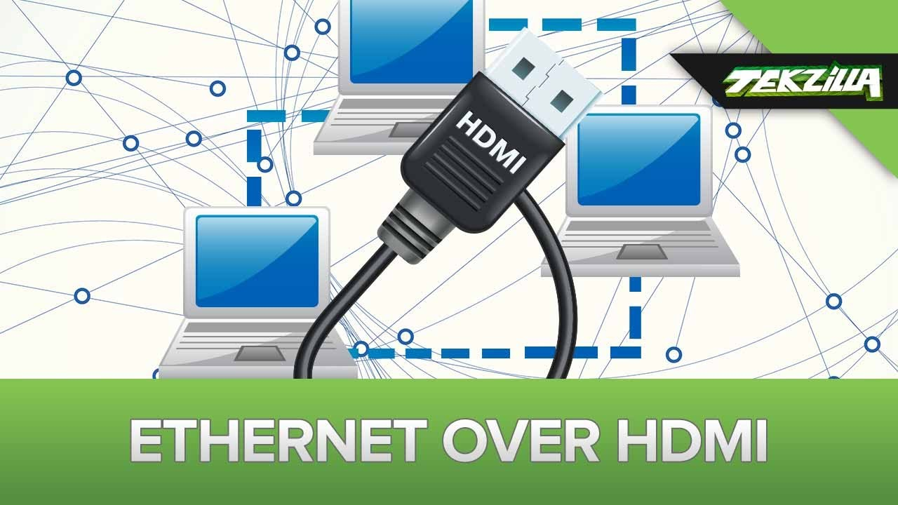 ethernet over hdmi is useless - youtube, Wiring diagram
