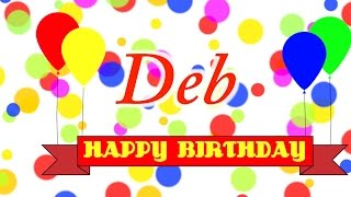 Happy Birthday Deb Song