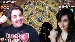 TAKİPÇİLERİMLE KLAN SAVAŞI (Yok Böyle 3 Yıldız) Clash of Clans