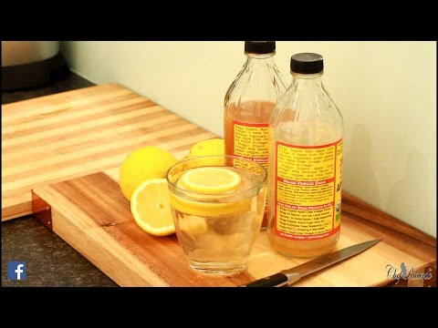 flat-tummy-with-apple-cider-vinegar-lemon-honey-water-|-recipes-by-chef-ricardo