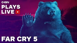 Far Cry 5: The Opening Hours Gameplay Livestream - IGN Plays Live