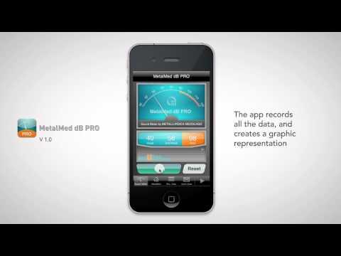 MetalMed dB PRO - application overview