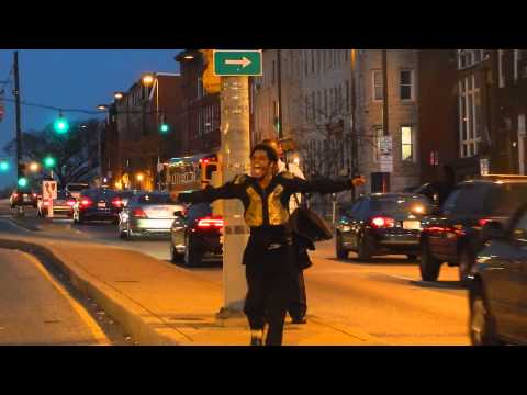 📹 Dimitri Reeves of Baltimore, Maryland - Michael Jackson ON-STREET Performances