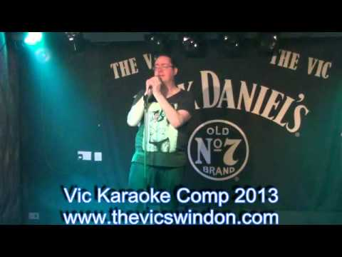 The Vic Karaoke Competition 2013 The Vic Swindon