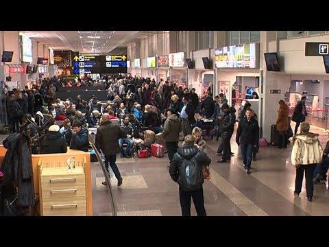 Аэропорт Краснодара работает сегодня в штатном режиме