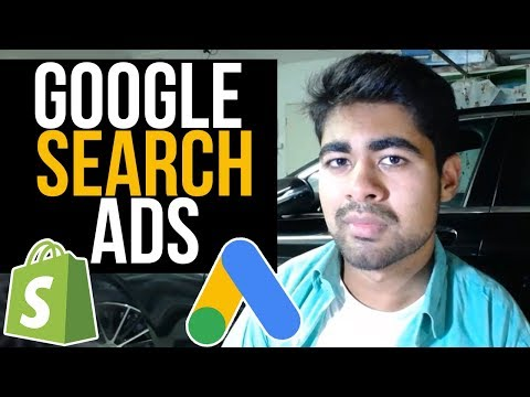 Google Search Ads Tutorial For Shopify Dropshipping thumbnail