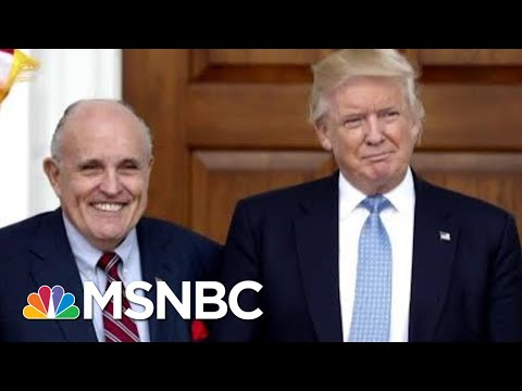 'President Donald Trump Has Hired His Mini-Me. Rudy Giuliani's A Buffoon' | AM Joy | MSNBC