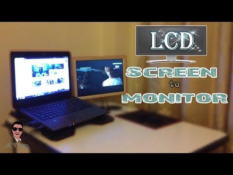 โน้ตบุ้คเก่าอย่าทิ้ง..นำจอกลับมาใช้งานได้ ll How to Reuse Your Old Laptop LCD