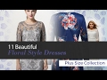 Beautiful Plus Size Floral Style Dresses // Featured on Amazon Fashion