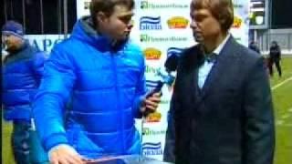 Арсенал 2-2 Карпати, Флеш-інтерв