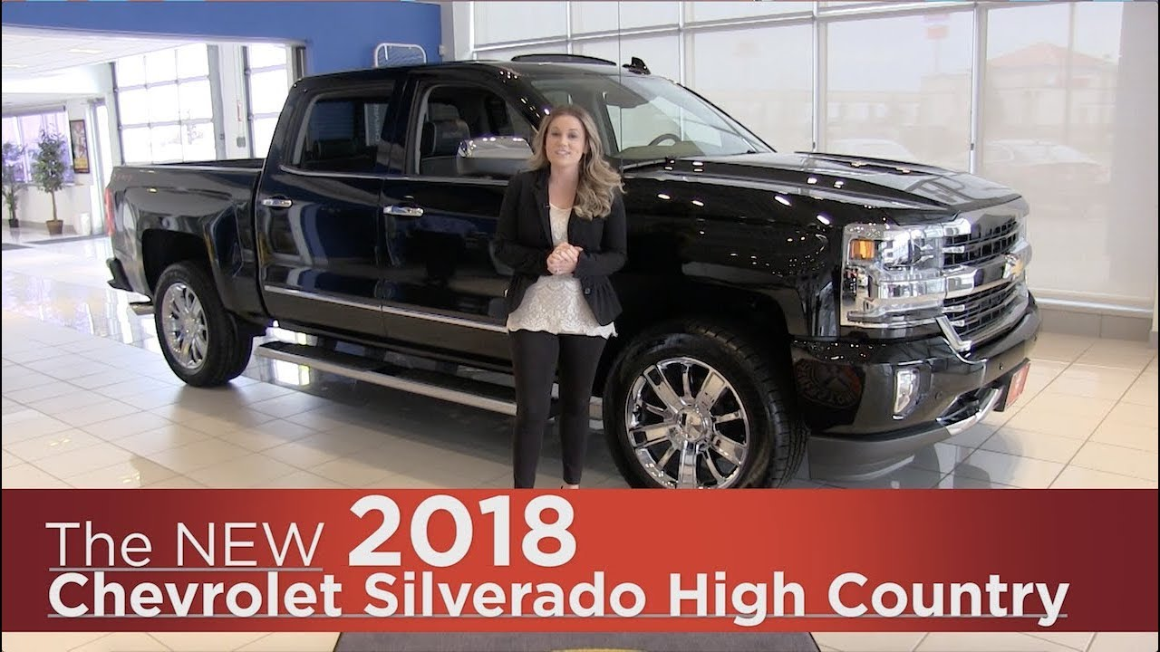 New 2018 Chevrolet Silverado High Country Mpls St Cloud