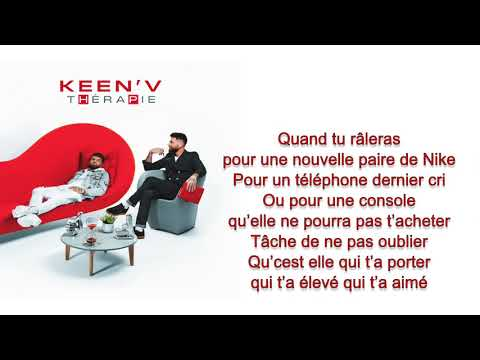 Keen'v - Maman (officiel Video Lyrics )