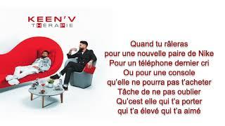 Keen'v - maman (officiel video lyrics )