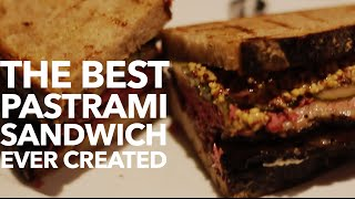 This may be the greatest pastrami sandwich ever created