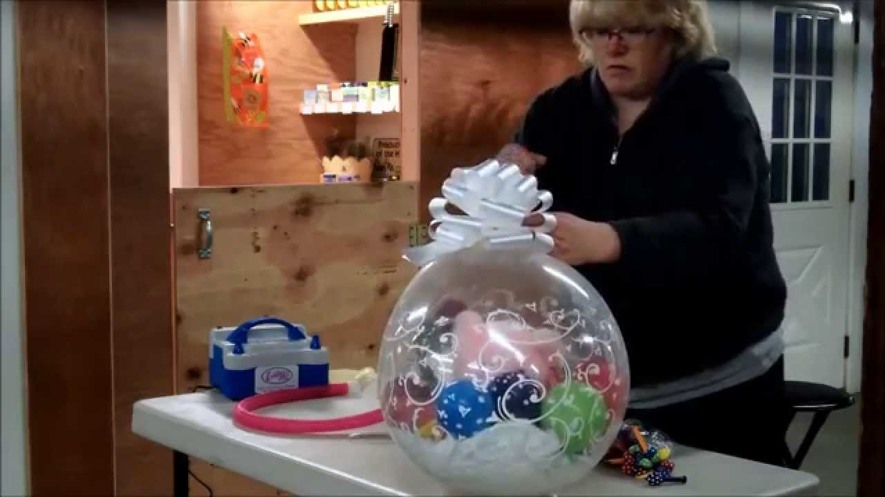 Let S Make A Balloon Full Of Gifts Youtube