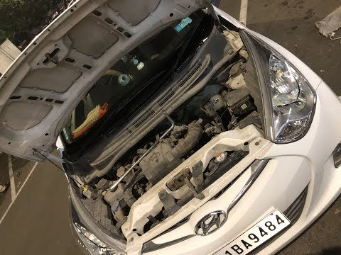 My Car Battery Died !!!!!   Hyundai Eon Battery Replacement  