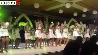 Washiriki Miss Tanzania 3 Nov 2012.