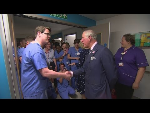 Prince Charles visits London hospital after terror attack