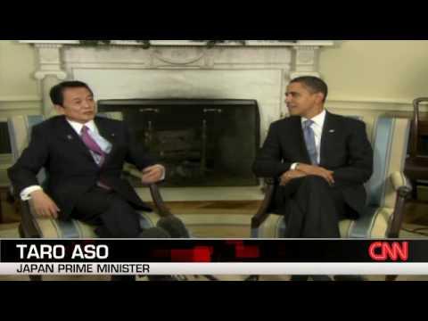 Japan PM visits Obama